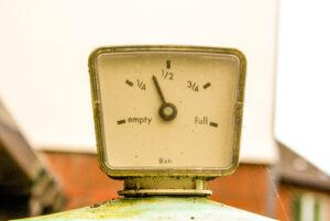 heating oil tank gauge